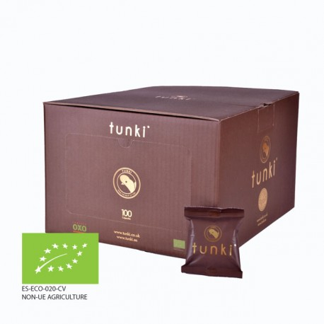 TUNKI - 100 cápsulas- Café Orgánico