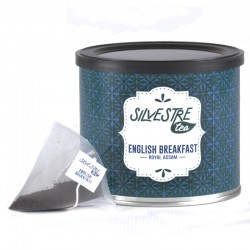 Té English Breakfast en pirámide