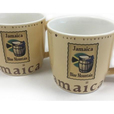 Tazas Colección Origen Jamaica 330 ml 2 unidades