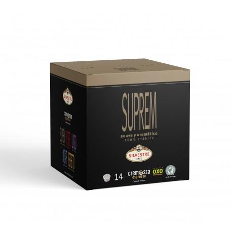 Cápsulas Cremossa Espresso Suprem 14 unidades