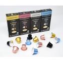 Pack Ahorro Degustación Cápsulas compatibles Nespresso 120 unidades