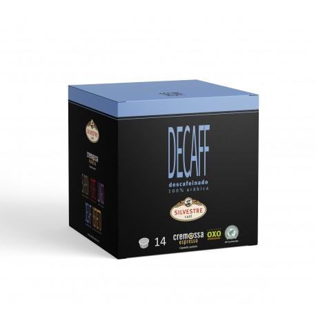 Cápsulas Cremossa Espresso Decaff 14 unidades