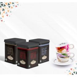 Pack Día del Padre: 3 variedades de Tés + Tazas de colección All seasons coffee